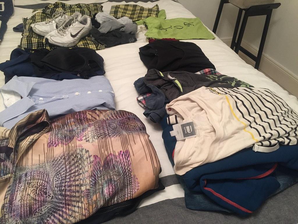 Packa och leta - alltså jag orkar inte!