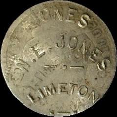 Limeton W E Jones obv v1
