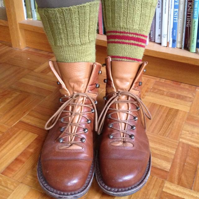 Anzac socks 2
