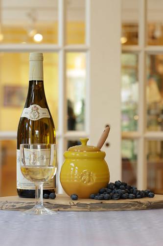 alessi glass family wine glass and le creuset honey pot flickr. Black Bedroom Furniture Sets. Home Design Ideas