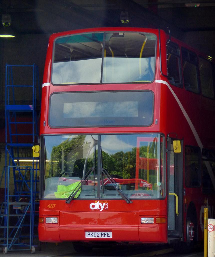 Plymouth Citybus 487 PK02RFE