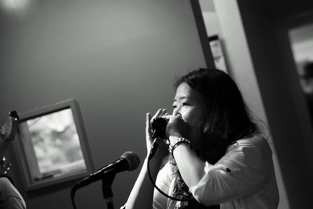 KOKOKAYO with Yoji Hamada and ずにあ live at Mviringo, Kawasaki, 21 Jun 2015. 071