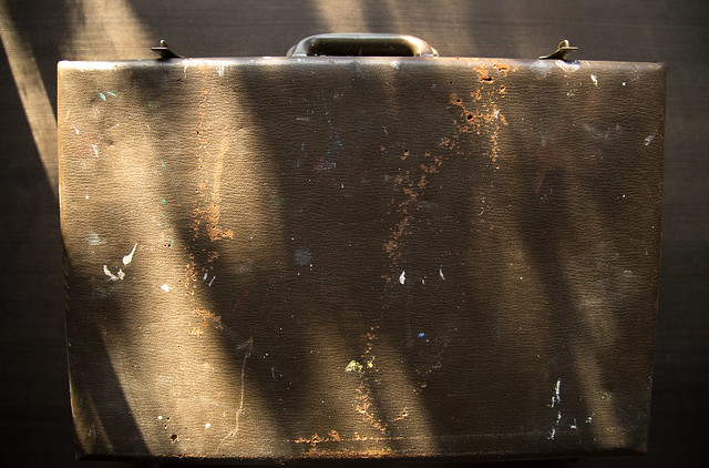 Vintage Art Briefcase - Case of Catharsis