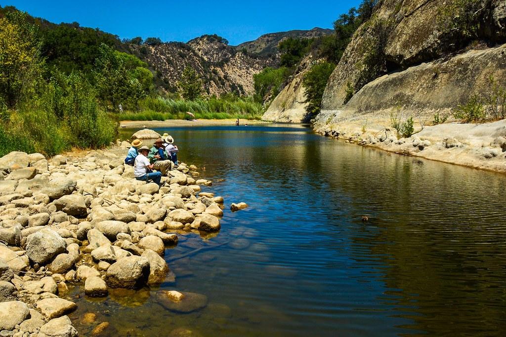 Santa ynez river swimming hole paradise canyon harold litwiler santa ynez river swimming hole paradise canyon by harold litwiler poppy big oak freerunsca Gallery