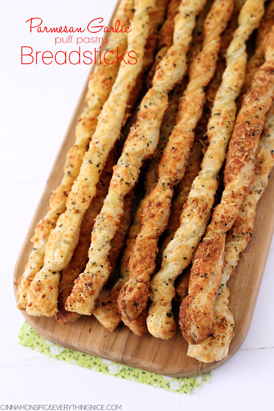 Easy Parmesan Garlic Twists