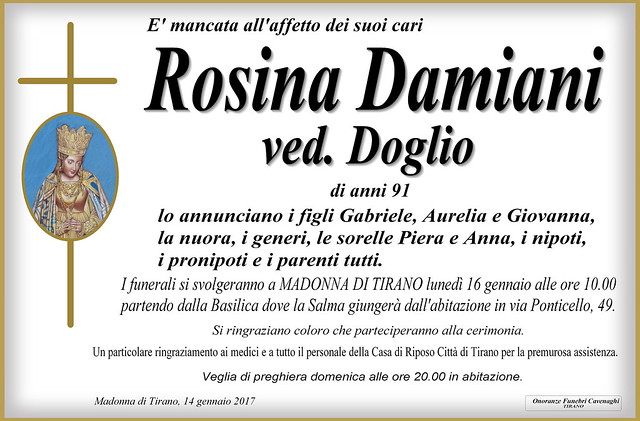Damiani Rosina