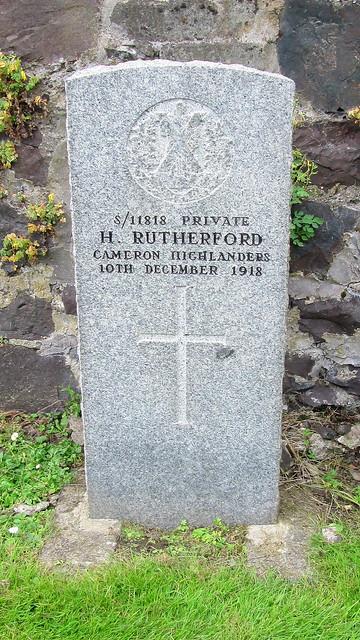 AbernethyWar Grave 3