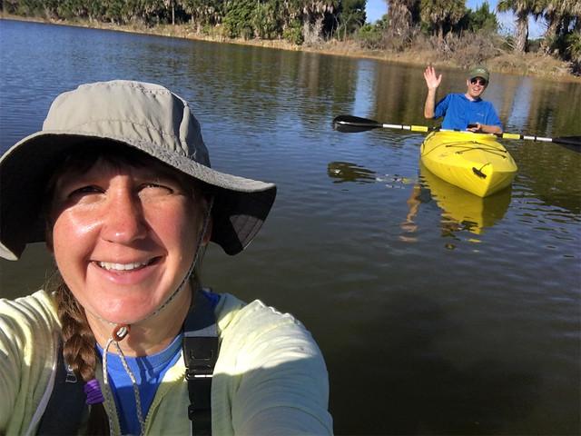 kayaking @ Gemini Springs