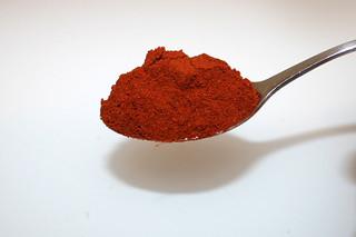 12 - Zutat geräuchertes Paprika / Ingredient smoked paprika