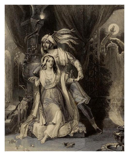 002-Lalla Rookh an oriental romance-1853 -E. H. Corbould