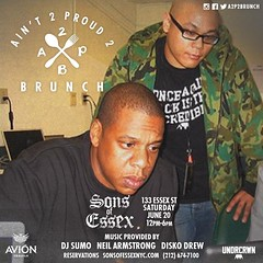6/20 - Join me for Bday Brunch at Ain't 2 Proud 2 Brunch at Sons of Essex NYC