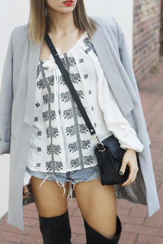 Bohemian Traders top, Grey Lioness coat