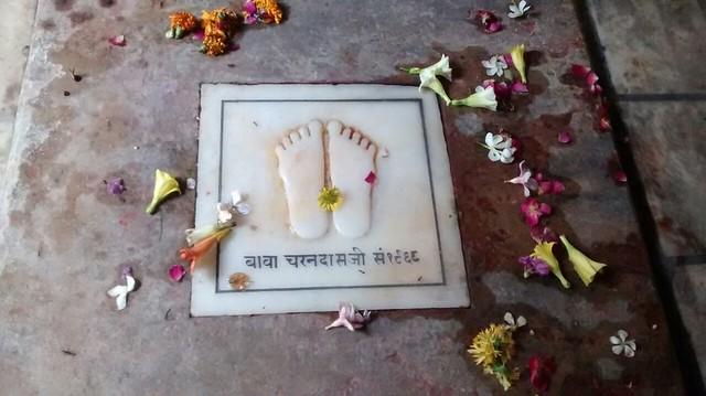 Charan paduka of Baba Charandas Ji