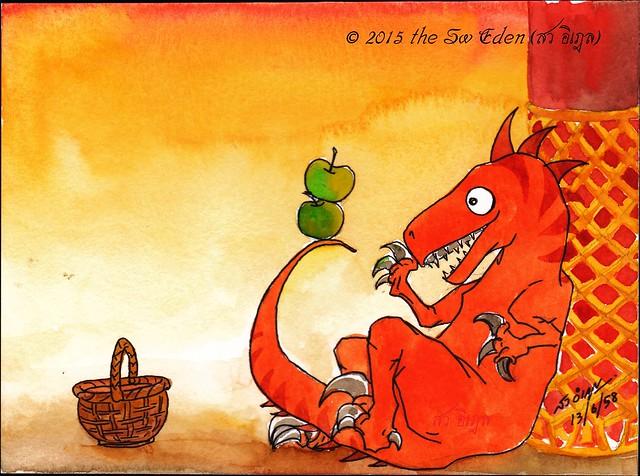 ไดโนเสาร์ และแอปเปิ้ลแห่งอิดุล