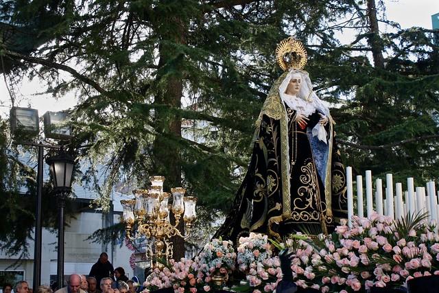 Semana Santa in Ferrol, Spain