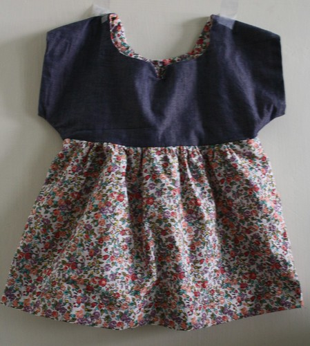 SEW-Floral Izzy Top