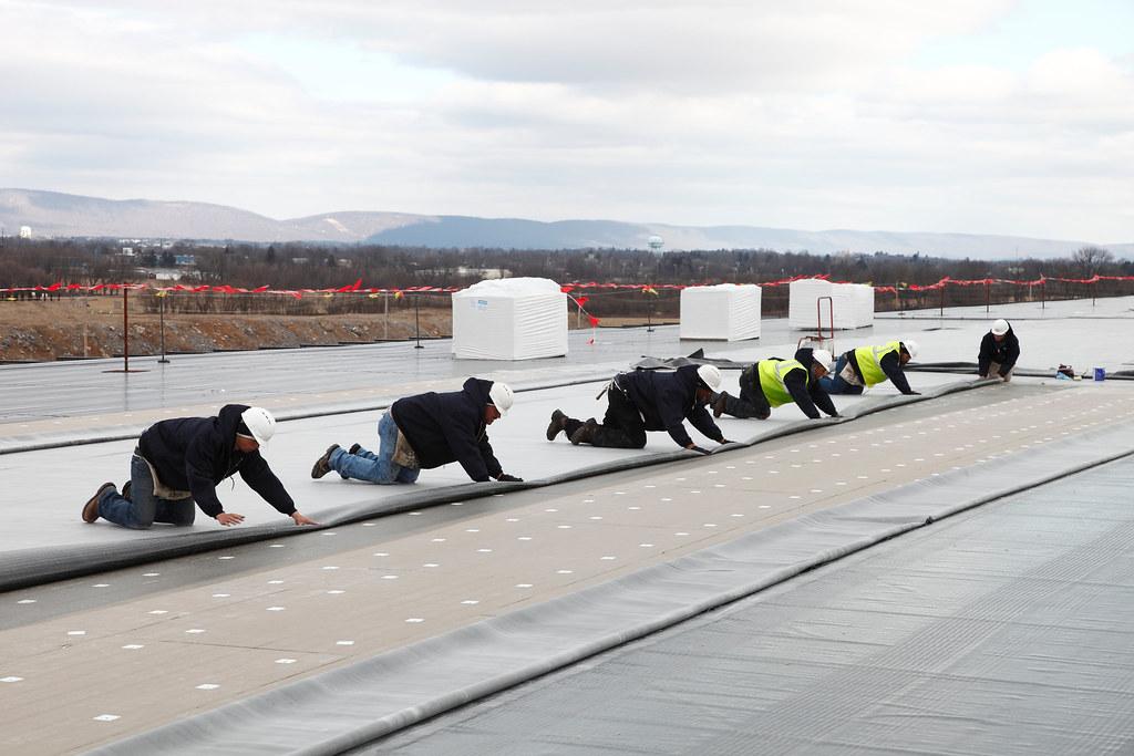 Sure-Seal EPDM Roof Install - Carlisle Warehouse ...