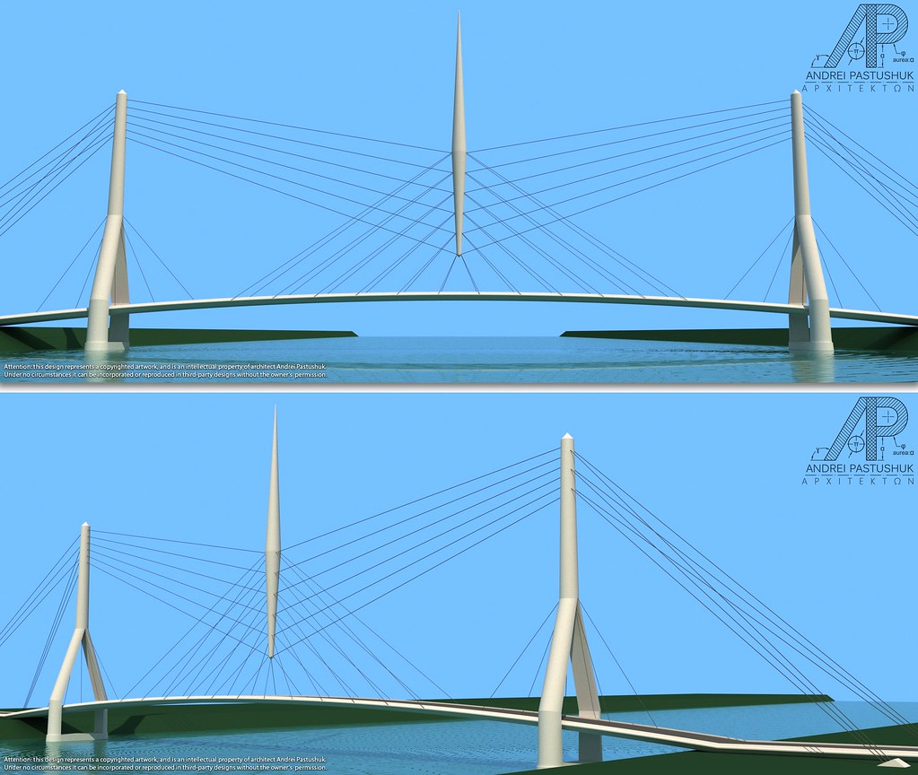 design of a cable stayed bridge The bridge, named for its designer, riccardo morandi, is of the cable-stayed type, in which sections of roadway are cantilevered from towers like diving boards and supported by stays.