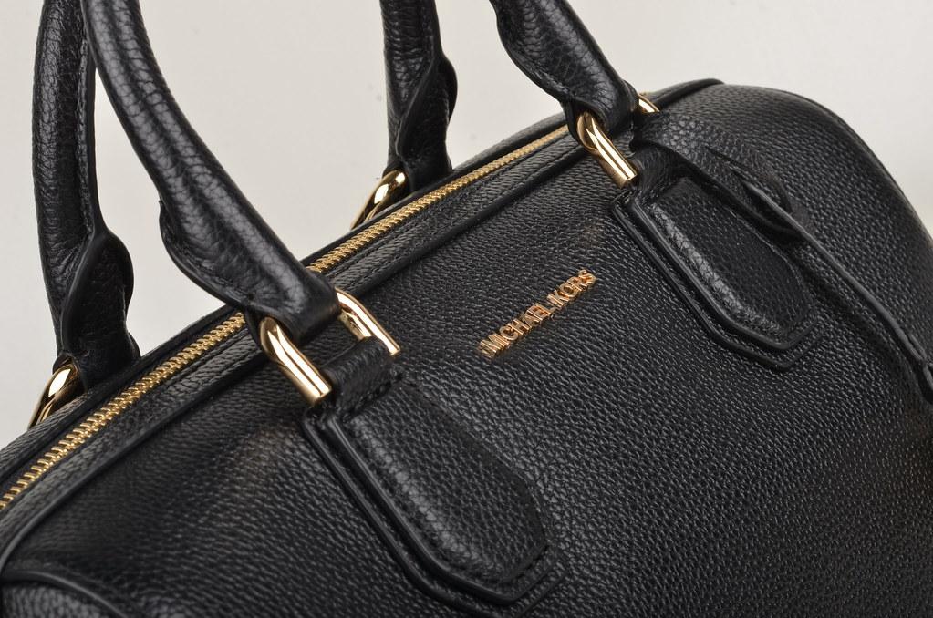michael kors mercer md duffle bowling bag handtasche kal flickr. Black Bedroom Furniture Sets. Home Design Ideas