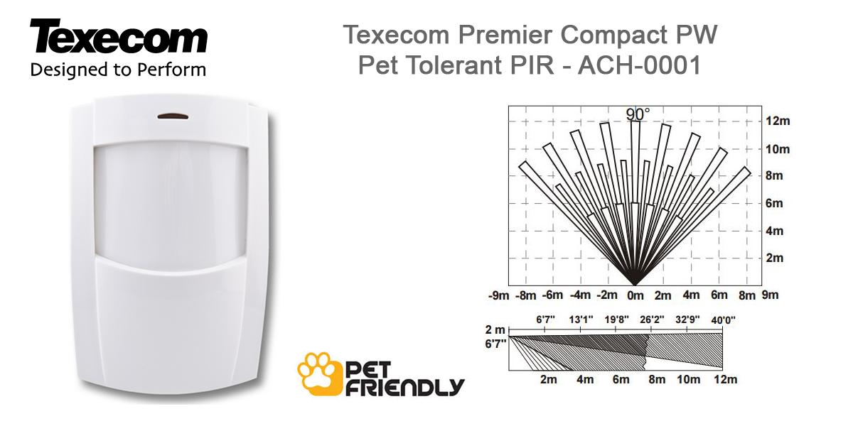 Brilliant Texecom Premier Compact Pw Pet Friendly Pir Motion Sensor Ach 0001 Wiring Cloud Hisonuggs Outletorg