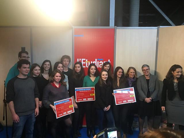 Inauguration du Salon de l'Étudiant de Lyon (Halle Tony Garnier)