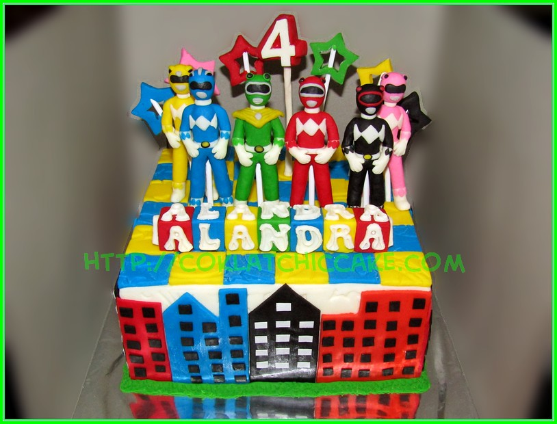 Cake Power Rangers