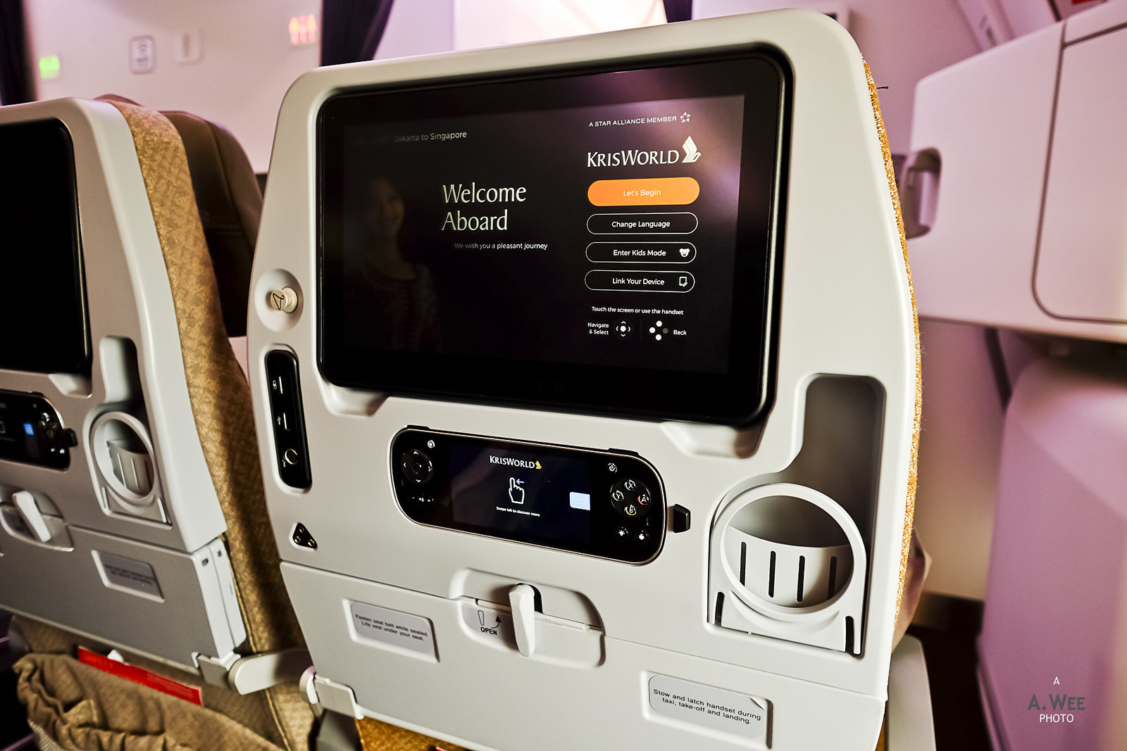 Seatback monitor