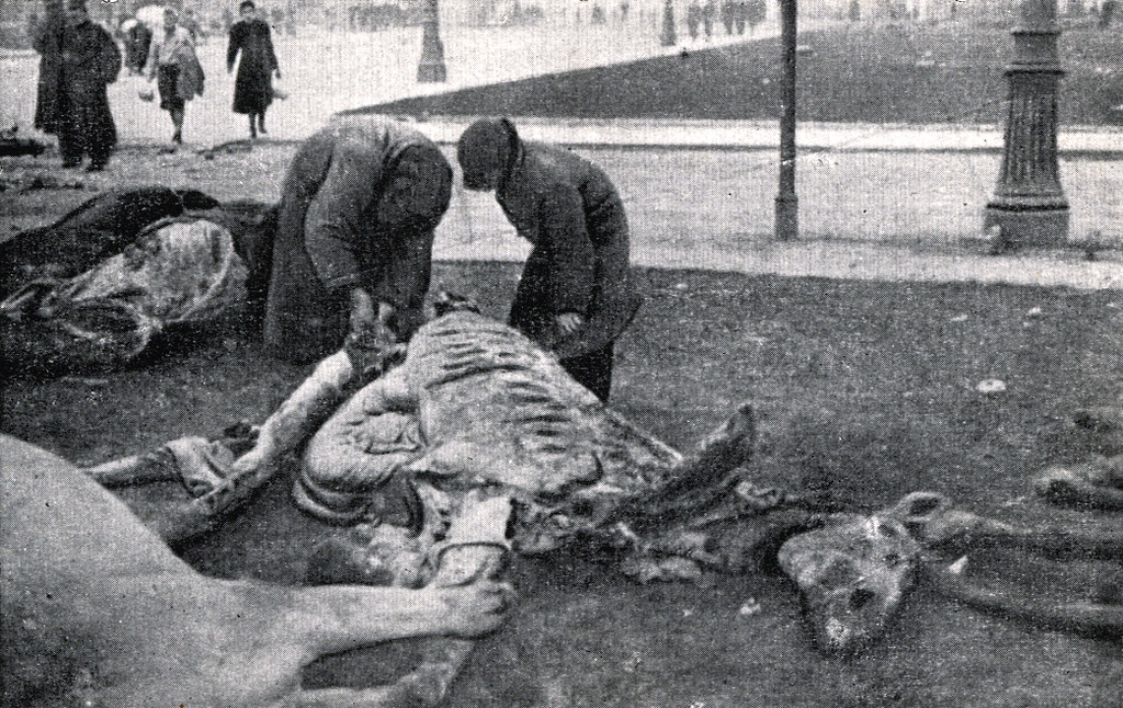 Période de faim à Varsovie pendant la seconde guerre mondiale.