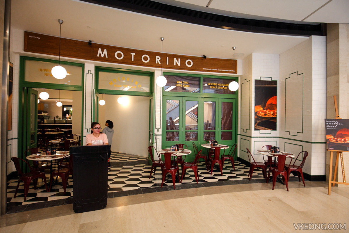 Motorino Wood Fire Pizza Resorts World Genting