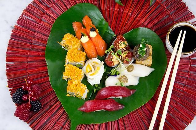 Sushita San Valentin menu