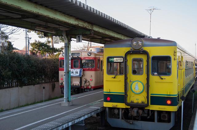 いすみ鐵道 大原駅