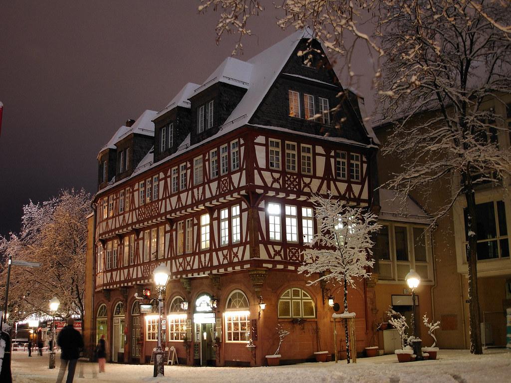 Haus Wertheym Am Fahrtor Frankfurt A Main Erbaut Um