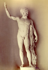 Vintage photo of Antinoos Statue | by Mamluke