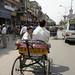 Old Delhi street.