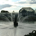 kew gardens - palm house/fountain
