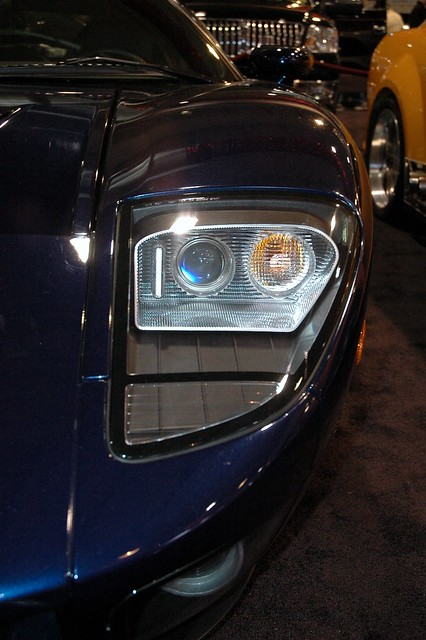 Ford Gt Headlights By Stand Ford Gt Headlights By Stand