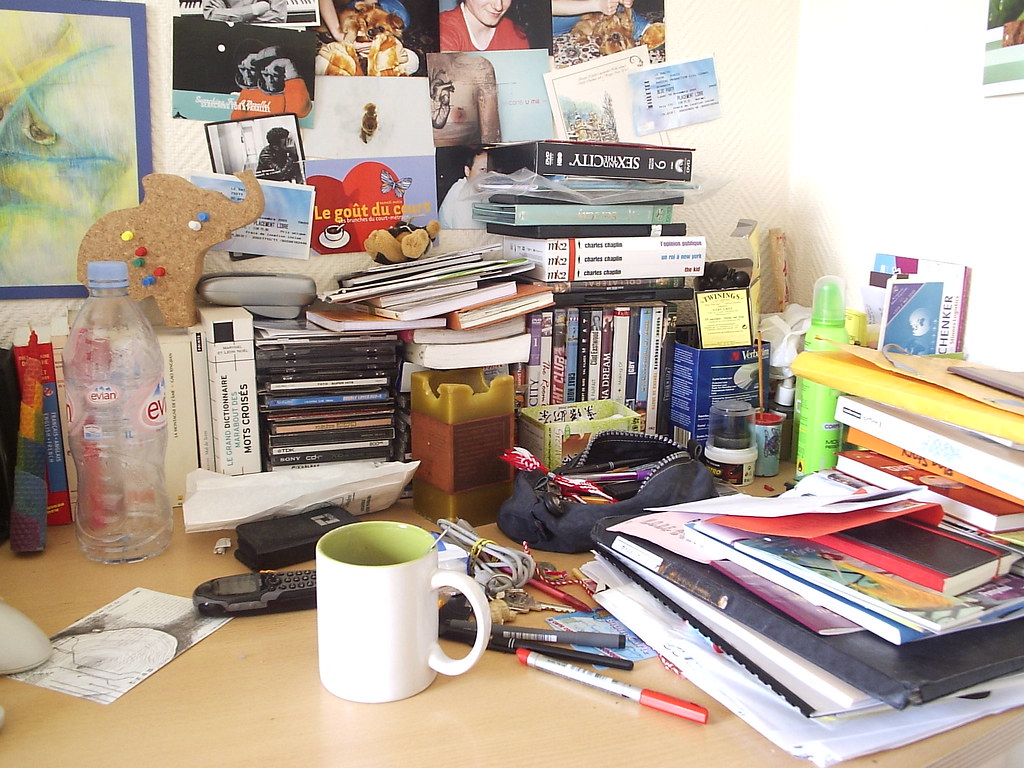 Mon bureau le bordel ia flickr