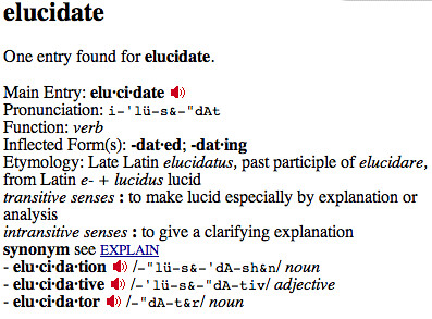 Attractive ... Definition: Elucidate | By Crimsonically Yours