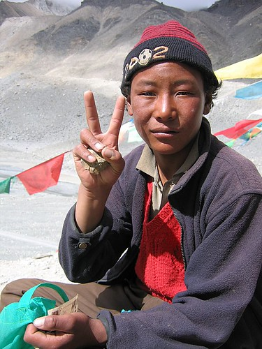 Peace from Everest | by sheilaz413