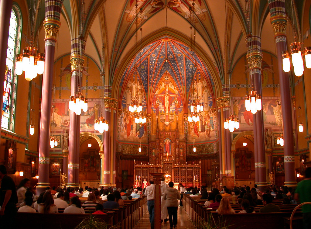 The Cathedral Of The Madeleine Salt Lake City Utah Flickr