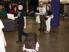 Terry Pratchett and the luggage | by Lucidragon