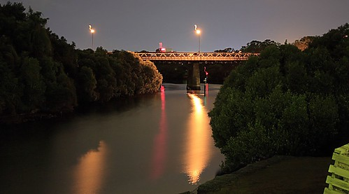 gas works bridge at night | by yewenyi