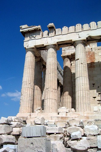 Athens - Acropolis: Parthenon - Southwest pediment | by wallyg