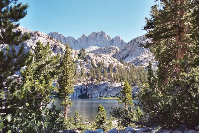 john muir wilderness map pdf