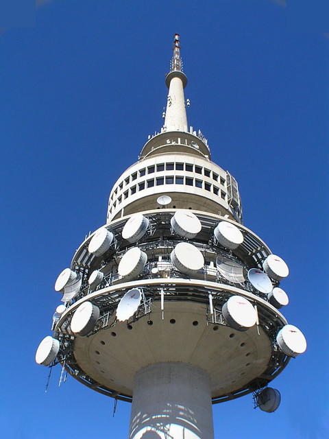 telstra tower black mountain canberra telstra tower on. Black Bedroom Furniture Sets. Home Design Ideas