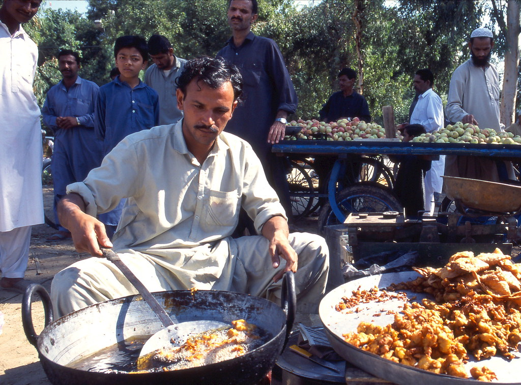 Travel Street Food Pakistan The Presence Of A Western