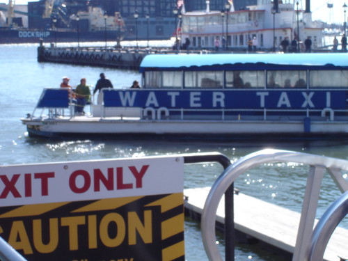 Baltimore Water Taxi Tourist area in Fells Point Baltimor P Timer Flickr