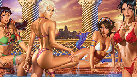 psp naked girls wallpaper