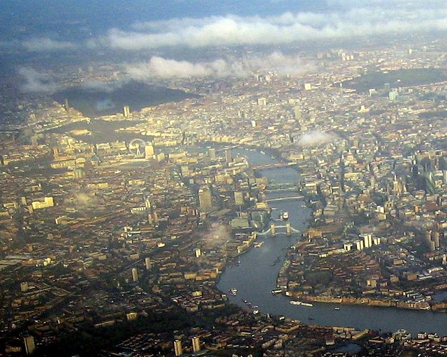 Parts Of A Plane >> London Aerial View Close Up | Photo taken from Air Canada Fl… | Flickr