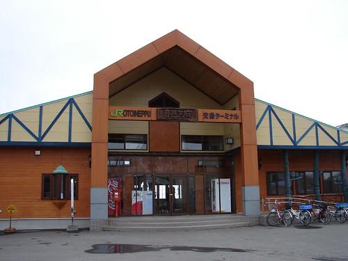 JR北海道音威子府駅・外観2